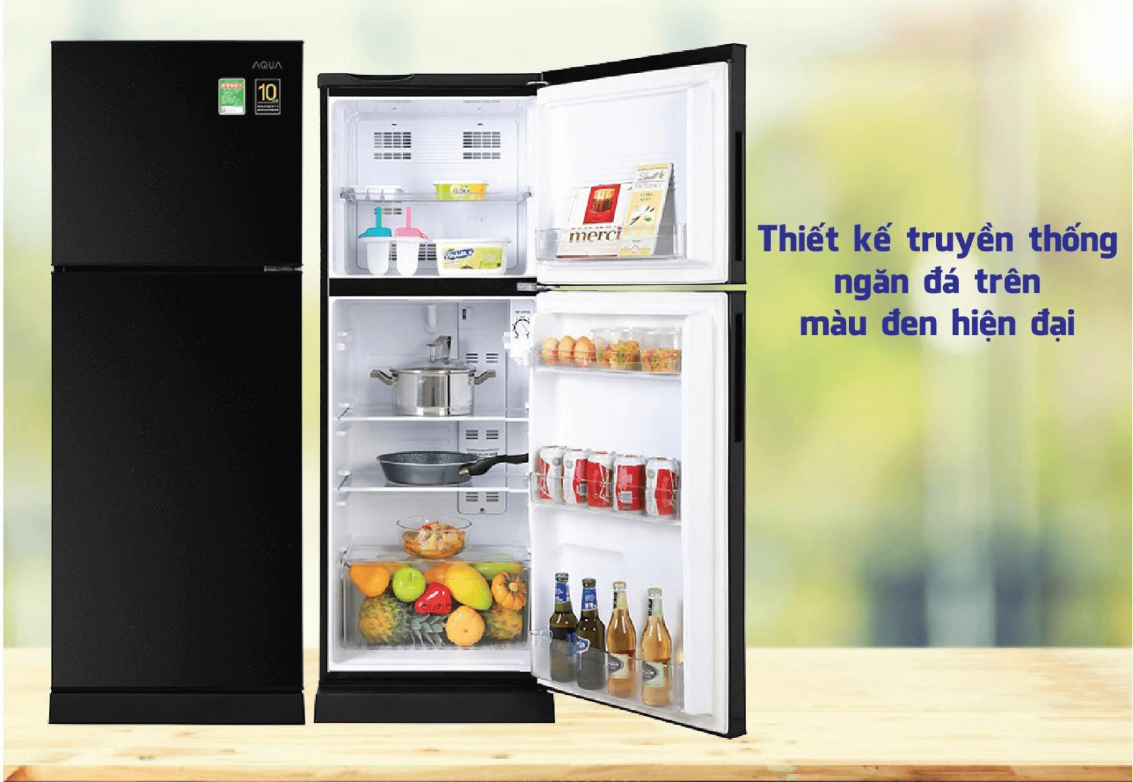 Tủ lạnh Aqua Inverter AQR-T219FA PB
