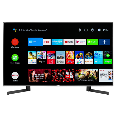 Android Tivi Sony 4K 55 Inch KD-55X9500H 0