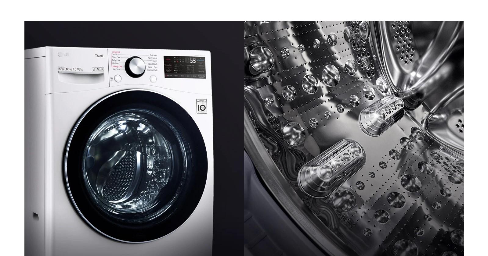 Siêu thị Điện máy Nội Thất Chợ LớnMáy Giặt LG Inverter 15Kg F2515STGW