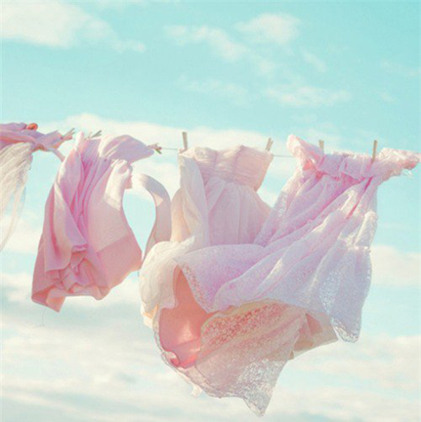 Giặt quần áo vào sáng sớm