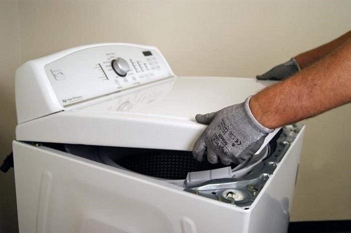 máy giặt không vắt được