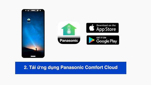 Kết nối máy lạnh Panasonic với ứng dụng Panasoic Comfort Cloud trên Android hoặc IOS