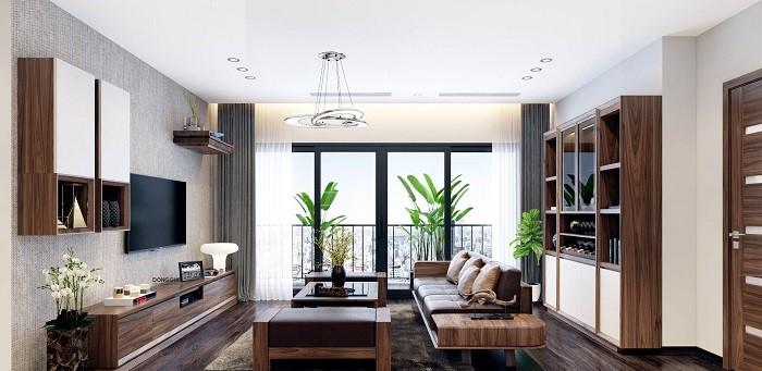 Những mẫu thiết kế nội thất phòng khách đẹp nhất năm 2019