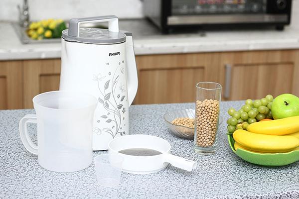 Những bí quyết sử dụng máy làm sữa đậu nành đúng cách