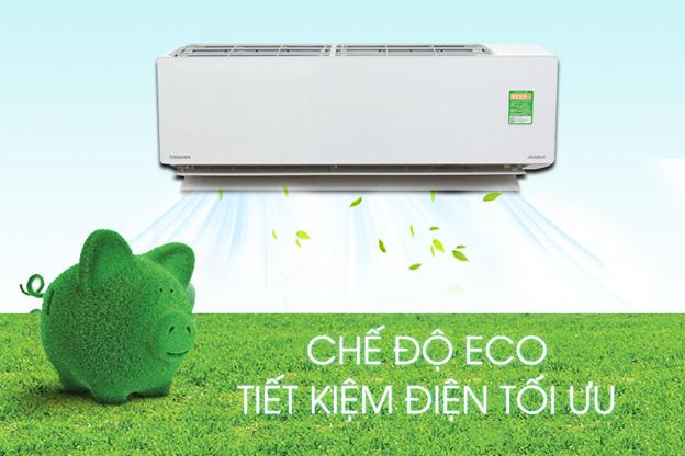 Tính năng Eco Mode của máy lạnh Toshiba