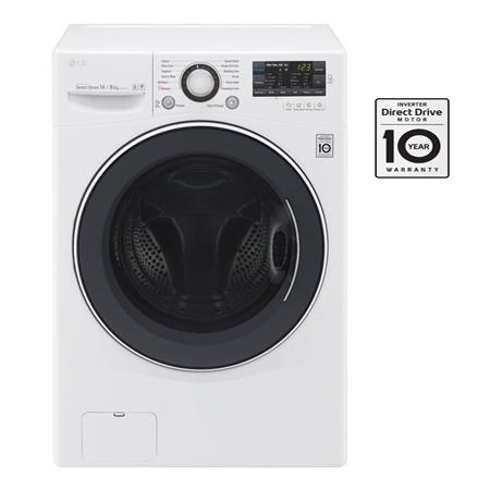 Máy Giặt Sấy 14.0/8.0 Kg LG F2514DTGW