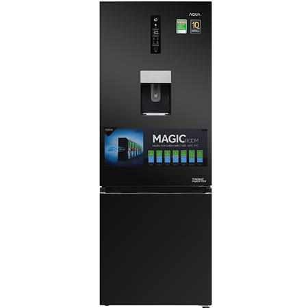 Tủ lạnh Aqua Inverter 317 lít AQR-IW338EB(BS)