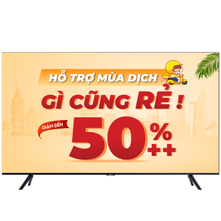Smart Tivi 4K Samsung 50 Inch UA50TU8100KXXV