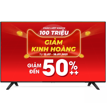 Smart Tivi 4K Philips 50 Inch 50PUT6103S/67