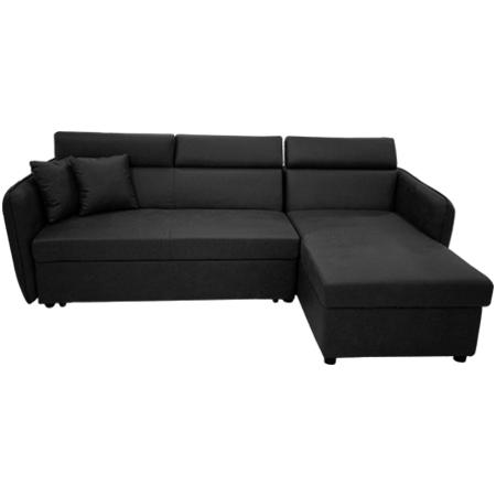 Sofa L (Góc Trái) Royal H18S09 160M Đen