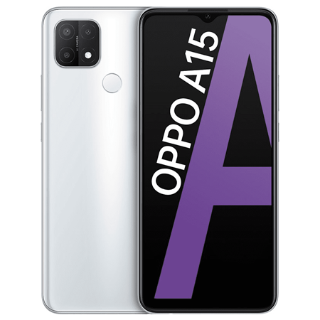 Oppo A15(3GB+32GB), Trắng