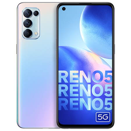 OPPO Reno 5 5G(8GB+128GB), Bạc